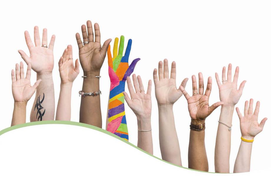 Diversity - hands